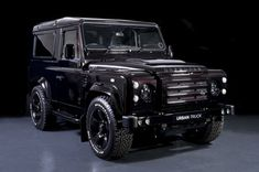 Urban Truck has created an incredible custom version of the Land Rover Defender 90 and Defender and they've named it the humble-yet-appropriate. Land Rover Defender, Defender 90, Kahn Design, M Bmw, Bmw X6, Automobile, Land Rovers, Range Rover, Luxury Cars
