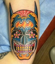 Batman skull #tattoo #ideas