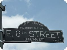 "Austin: 6th street. Better known as ""the dirty 6."" Done."