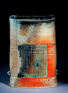 Charity Davis Woodard vase