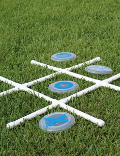 This post is filled with DIY giant outdoor summer games that you kids will be just as crazy about as you are! They are extremely easy to make!