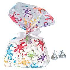Artist Party Cellophane Bags - OrientalTrading.com