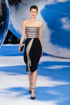 See all the looks from Christian Dior's Fall 2013 show. #pfw