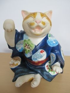 松本 浩子作 招き猫