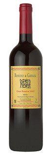 La botella del Remírez de Ganuza Gran Reserva 2007