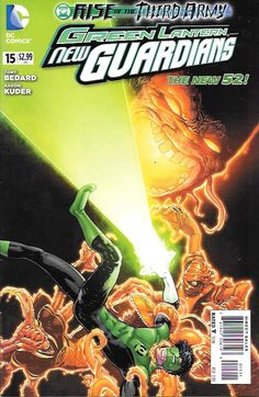 Green Lantern: New Guardians # 15 DC Comics The New 52!