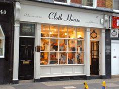 CLOTH HOUSE 610x457 Londons Top 10 Haberdashery Shops