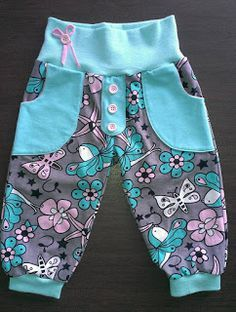 """HaiDesign: Endlich ist er da…Der """"neue Schnitt"""" passend zum Basic""""C""""ut – HaiDesign: Finally it is here … The """"new cut"""" to match the basic """"C"""" ut – Great pants – 3 versions, tight, loose, for diaper wearers Sewing Kids Clothes, Baby Clothes Patterns, Sewing For Kids, Baby Sewing, Baby Patterns, Clothing Patterns, Diy Clothes, Basic Clothes, Sewing Pants"""