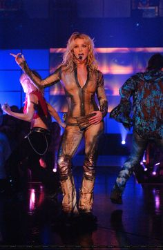 Britney Spears performing in 2002... Just saying I cannot wait til may to see her in vegassssssss