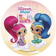 Risultati immagini per shimmer and shine Birthday Party Treats, 9th Birthday, Shimmer And Shine Cake, Baby Cartoon Characters, Wedding Anniversary Invitations, Bday Girl, Party Pictures, Topper, Disney Junior