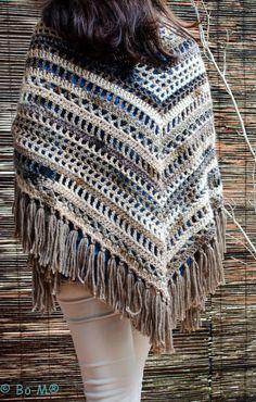 Feito à mão em crochet  95