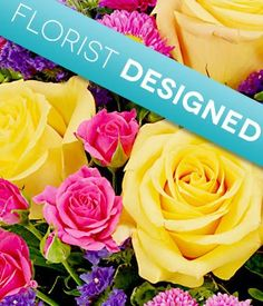 Florist Designed Birthday Bouquet - Flowers - http://yourflowers.us/?p=3789