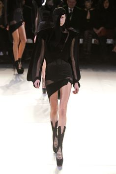 Mugler Fall 2012: Insects and No Gaga on the Runway