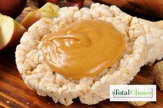 Total Choice PB Rice Cake: Spread the joy with this delicious and simple dessert. Eat this recipe on the Total Choice 1200-calorie plan.