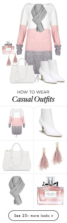 """Untitled #131"" by styledbydonita on Polyvore featuring Carlos by Carlos Santana, Marsèll, Lizzie Fortunato, Christian Dior and White + Warren"