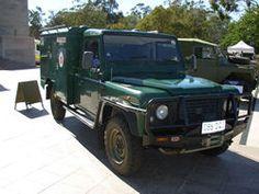 Land Rover der Heilsarmee für den Einsatz im australischen Outback