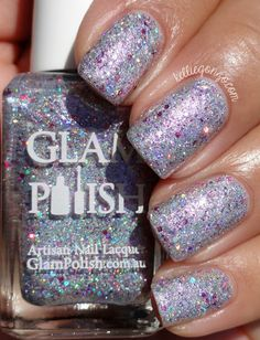 Brand: Glam Polish // Collection: Think Pink Trio (July 2015)  // Color: Crystal Couture // Blog: Kellie Gonzo