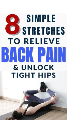 Gym Workout Tips, Fitness Workout For Women, Hip Workout, Easy Workouts, Workout Videos, Yoga Workouts, Health And Fitness Tips, Sciatica Exercises, Workout Exercises