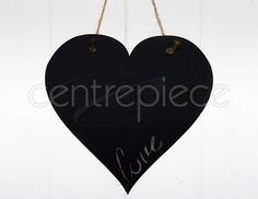 Chalkboard Sign Heart Hanging