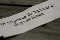 Burning Babi Fat: Do Not Give Up, the Beginning is Always the Hardest