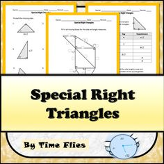 Taxonomy of quadrilaterals lower forms are special cases o this geometry lesson covers special right triangles if your students have not practiced simplifying radicals fandeluxe Image collections