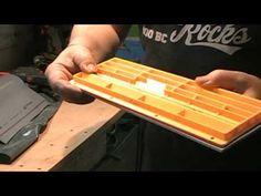 Fabrication d'une plaquette sans espace avec tuyau PVC … Zero clearance ...