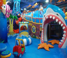 Undersea World Indoor Playground System | Cheer Amusement CH-TD20150112-5 - playgroundcheer.com