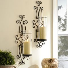 The perfect pair of sconces can add just the touch of elegance that you need.