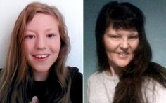 Liz Edwards (right) and her daughter, Katie, were found dead on Friday