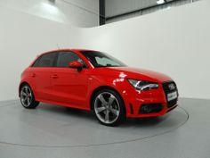 Red Audi, Hatchbacks, Audi A1, Black Edition, Derbyshire, Business Attire, Leather Interior, Ibiza, Savage