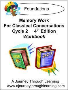 Written for students in the Classical Conversations program, this workbook provides a place for students to practice, review, and record memory work done in Cycle 2. This product is meant to be a helpful tool and one that will enhance your students learning experience. It covers memory work for the entire 24 week term. #classicalconversations #lapbook