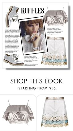 """""""Untitled #46"""" by alpacka ❤ liked on Polyvore featuring River Island, Hilfiger Collection and Stuart Weitzman"""