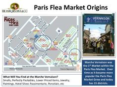 The Clignancourt Flea market is one of the largest in Paris, my favorite areas was called Marche Vernaison. Paris Flea Markets, Paris Summer, Fleas, Niagara Falls, Las Vegas, England, California, France, Map
