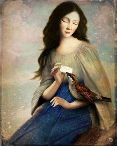 'The Messenger' von Christian  Schloe bei artflakes.com als Poster oder Kunstdruck $20.79