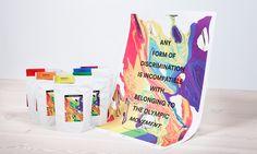 """""""Toute forme de discrimination est incompatible avec l'appartenance au Mouvement olympique."""" Cette phrase est tirée de la Charte Olympique et a inspiré l'agence norvégienne Anti, LLH et le torréfacteur Solberg & Hansen dans l'élaboration d'une campagne visant à sensibiliser sur les discriminations vécues par la communauté gay en Russie, au moment des derniers Jeux olympiques. Cette campagne prend forme via un packaging de café."""