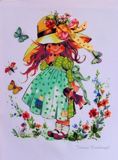 Painting Minx  Silk ribbon embroidery by SilkRibbonembroidery