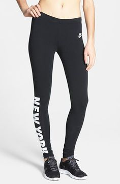 Nike 'Leg-A-See - New York' Leggings available at #Nordstrom