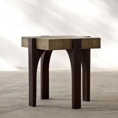ENDTABLES.003 Alexander Lamont: Branch Side Table Square