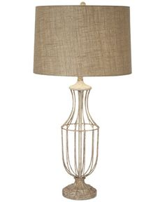 CLOSEOUT! kathy ireland home by Pacific Coast Hampton Table Lamp, Only at Macy's