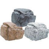 outdoor rock speakers: traditional home electronics by Overstock