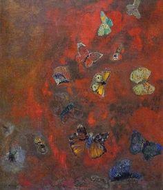 ルドン/心に浮かぶ蝶