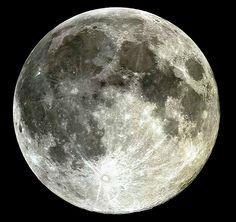 """¡La Luna! ...esplendorosa y enigmática """"Señora de la noche"""" !!!"""