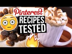 Pinterest Hacks TESTED: Hot Chocolate Recipes || What Worked & What DIDN'T - YouTube