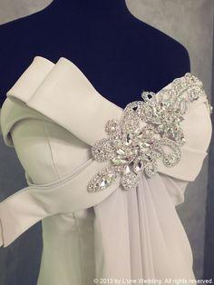 "David Gray - ""Be mine""  Sliver - Classy, Stylish, Modern & Sleek  #wedding #gowns #dresses #silver #lune #lunewedding #classy #stylish #modern #sleek #love #forever #romantic #colours #happy #pretty www.lunewedding.com"