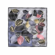Blusters and blizzards silk scarf