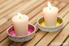 BrightNest | Got 5 Minutes? Turn a Mason Jar Lid Into a Candleholder