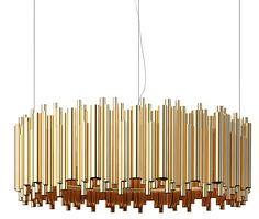 Gold plated Brubeck lamp strikes a chord with luxe decor : Luxurylaunches