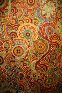 Aboriginal Art in Orange