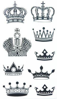 Résultats de recherche d'images pour « tattoo couple couronne »