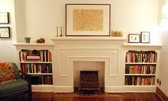 faux-fireplace...I like the idea of this...not necessarily the actual design of it.